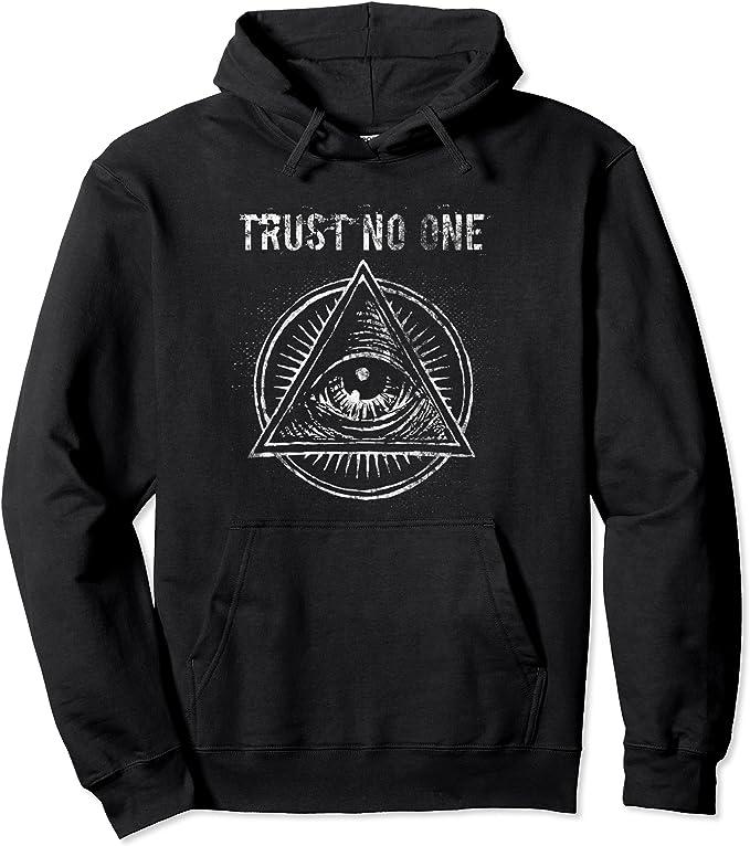 Freimaurer Illuminati Augensch/ädel Freimaurer Pullover Hoodie