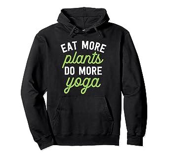 Vegan Inspired Hoodie - Eat More Plants Do More Yoga