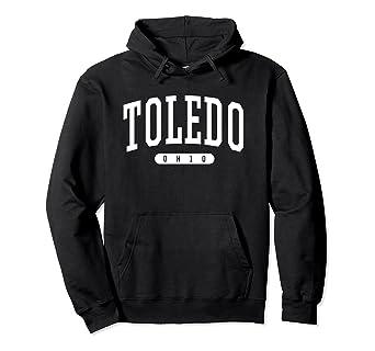 Amazon.com: Toledo sudadera con capucha Universidad estilo ...