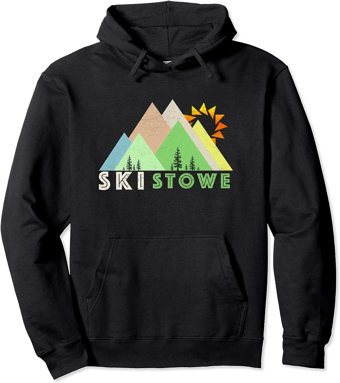 Popular brand Mesa Mall Ski Stowe Hoodie-Retro VT Shirt Vintage