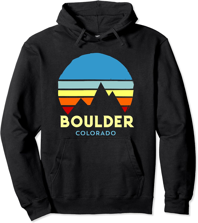 Boulder Max 65% OFF Colorado San Francisco Mall Pullover Hoodie