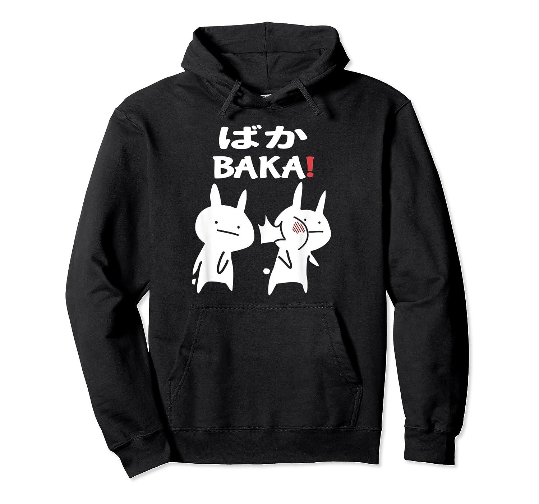 Baka Rabbit Slap Shirt Anime Japanese Gift Funny Pullover