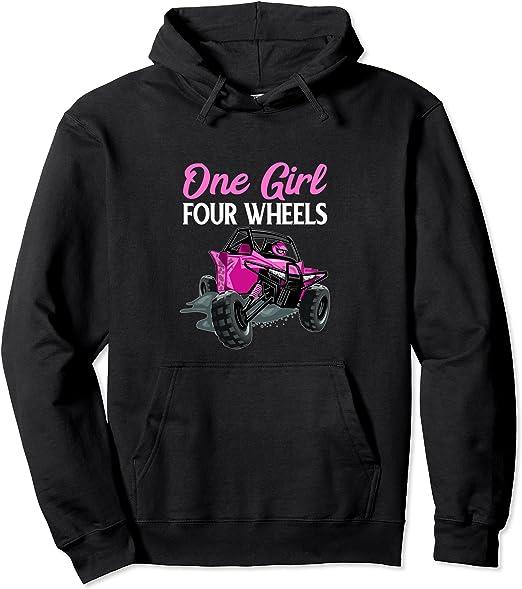 This Girl Loves 4-Wheelers T-Shirt Four Wheeler Sweatshirt Tank Top Children Kids Tees Cute ATV Shirt 4-Wheeler Long Sleeve Hoodie