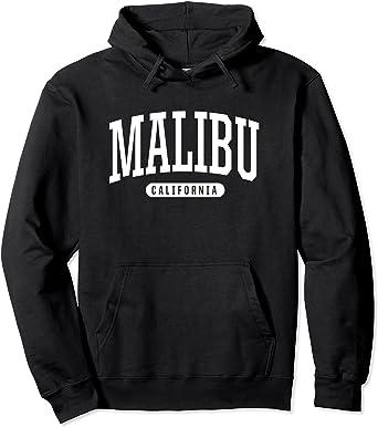 Malibu California Sudadera con Capucha