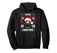 Thai Ridgeback Gift For Merry Christmas Woofmas Clothes Shirts Hoodie Black