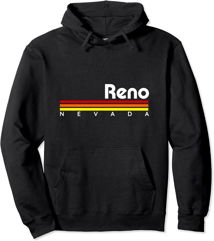 Reno Nevada Limited Special Price 5 ☆ very popular Retro Pullover Hoodie