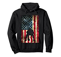 Flag Football Pittsburgh Lineman Gift Shirts Hoodie Black