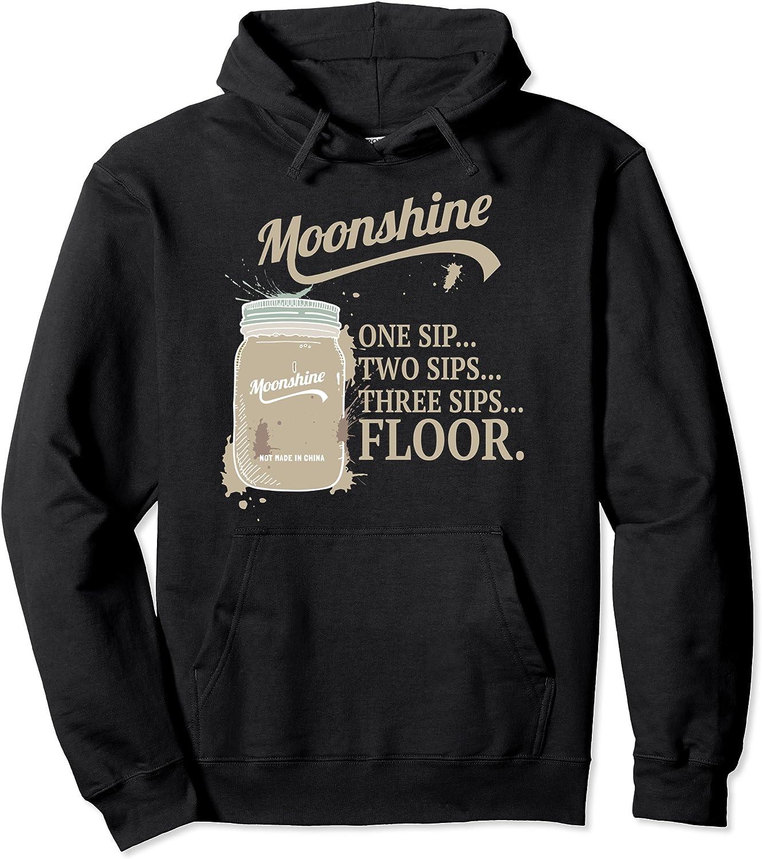 Moonshine Moonshiner Mason Jar 数量限定アウトレット最安価格 Pullover Floor 注目ブランド Sip Hoodie