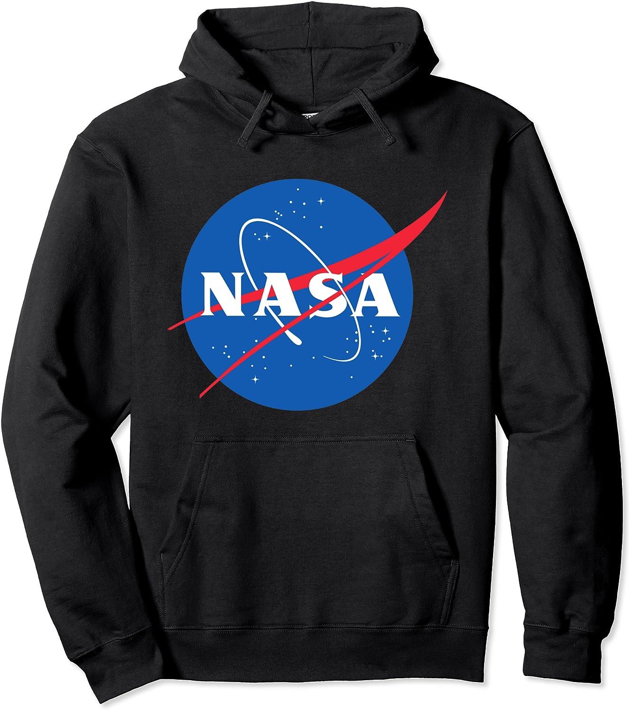 NASA Logo Pullover Hoodie