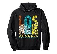 Los Angeles Shirt California City Los Angeles T Shirt Hoodie Black