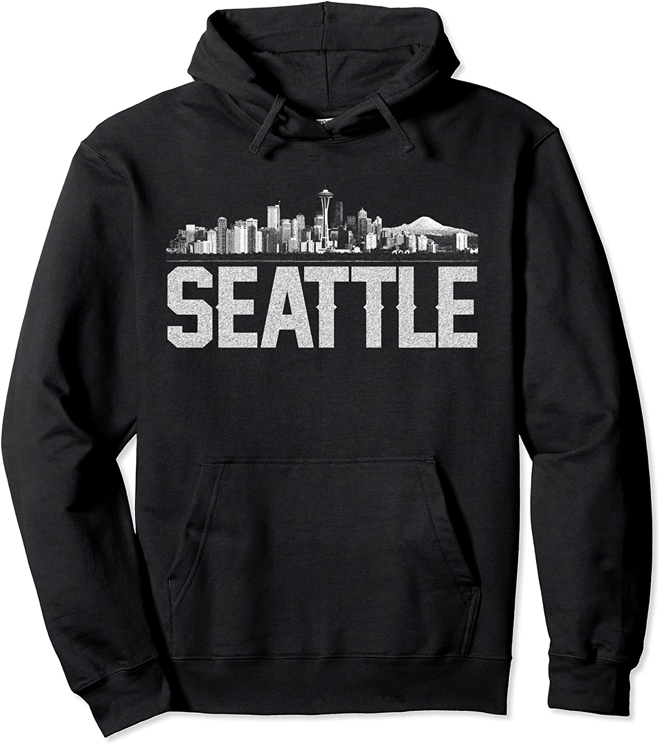 Max 51% OFF Seattle Skyline Hoodie for Women Men excellence