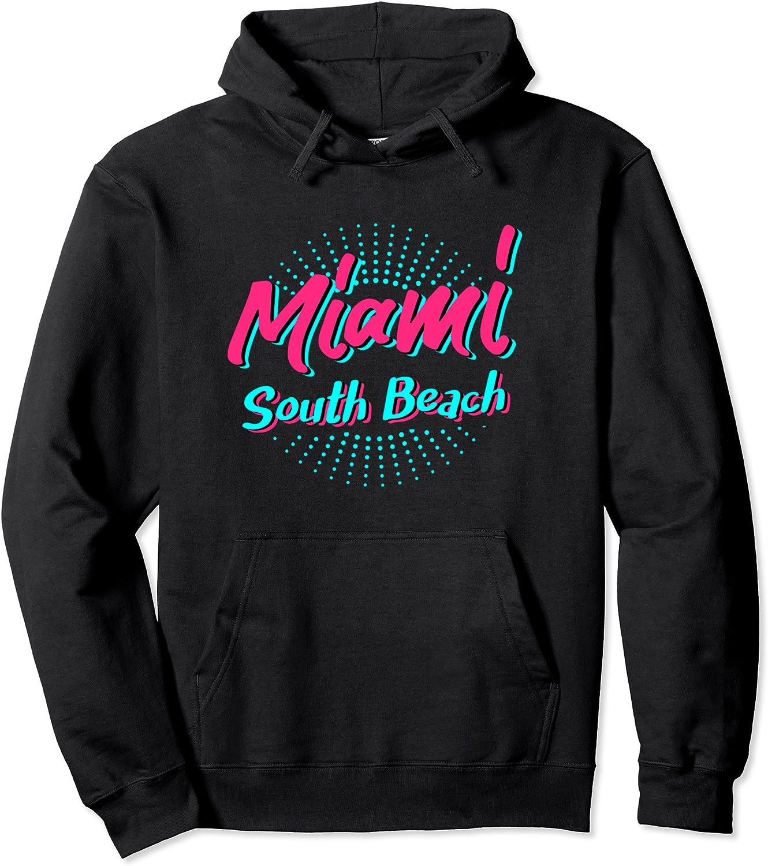 Miami Selling San Antonio Mall South Beach Hoodie Pullover