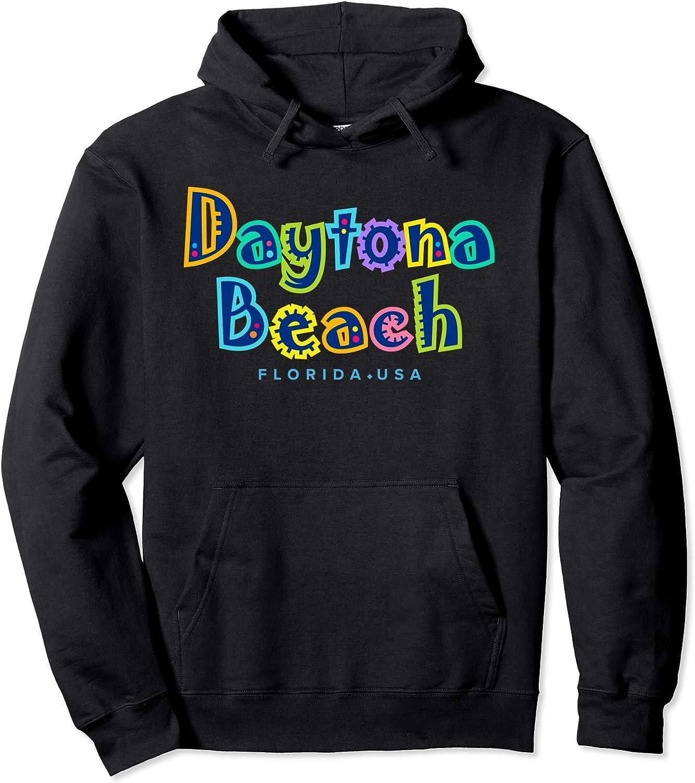 Daytona Beach Al sold out. Florida Max 65% OFF souvenir Pullover Hoodie