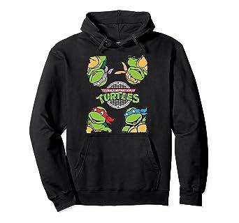Amazon.com: TMNT - Sudadera con capucha de las Tortugas ...