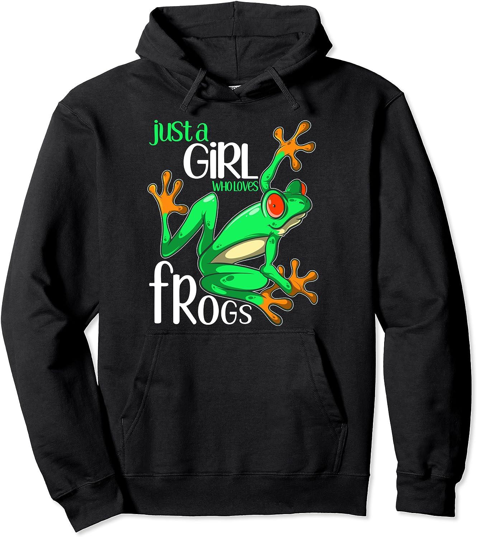I LOVE Frogs-Hoodie