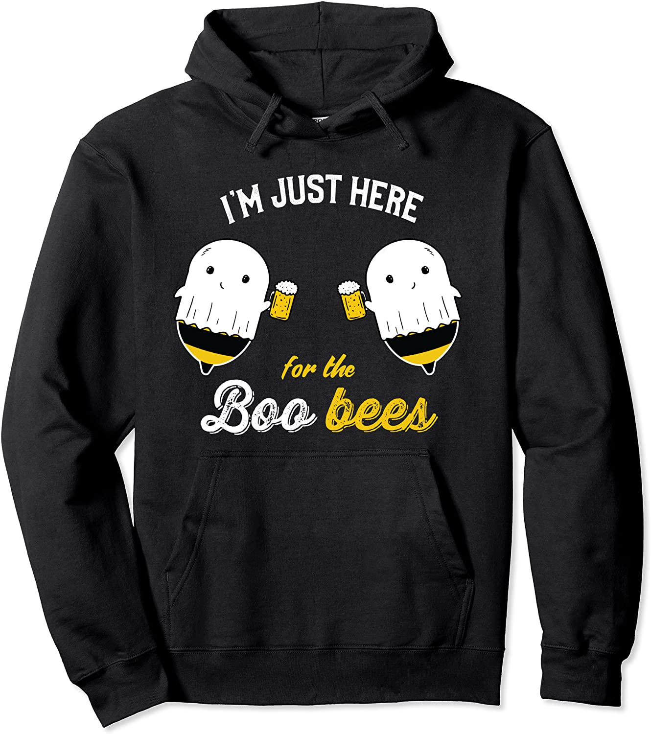 I'm just Here for the OFFicial Boo Halloween Costume Bombing free shipping Pul Bees Ghost Funny