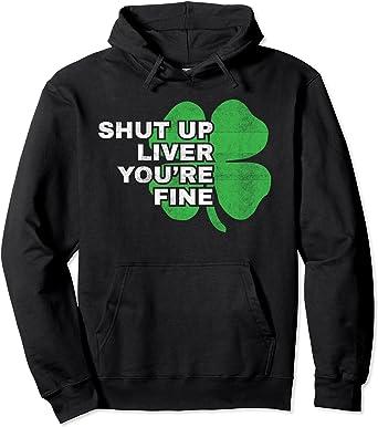 Lucky Shamrock Funny St Patricks Patty/'s Day Hoodie Hooded Sweatshirt Men Women