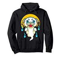 Cute Pug Dog Lover Ghost Funny Halloween Costume Gifts Shirts Hoodie Black