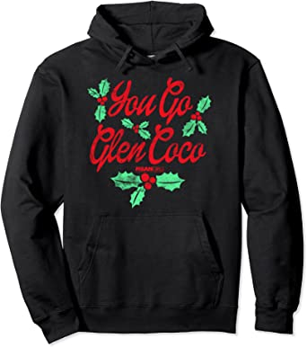 glen coco womens cropped hoodie candy canes fleece lined You Go Glen Coco Cropped Hoodie plastics christmas hoodie holiday hoodies
