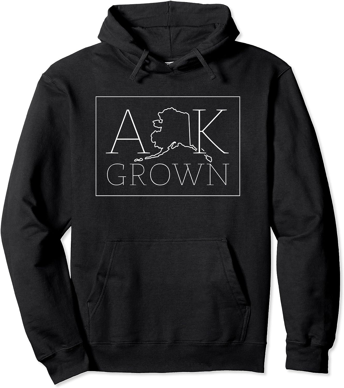 Reservation Alaska Grown Hoodie AK Home State Sweatshirt Hooded Gift Pullove San Francisco Mall