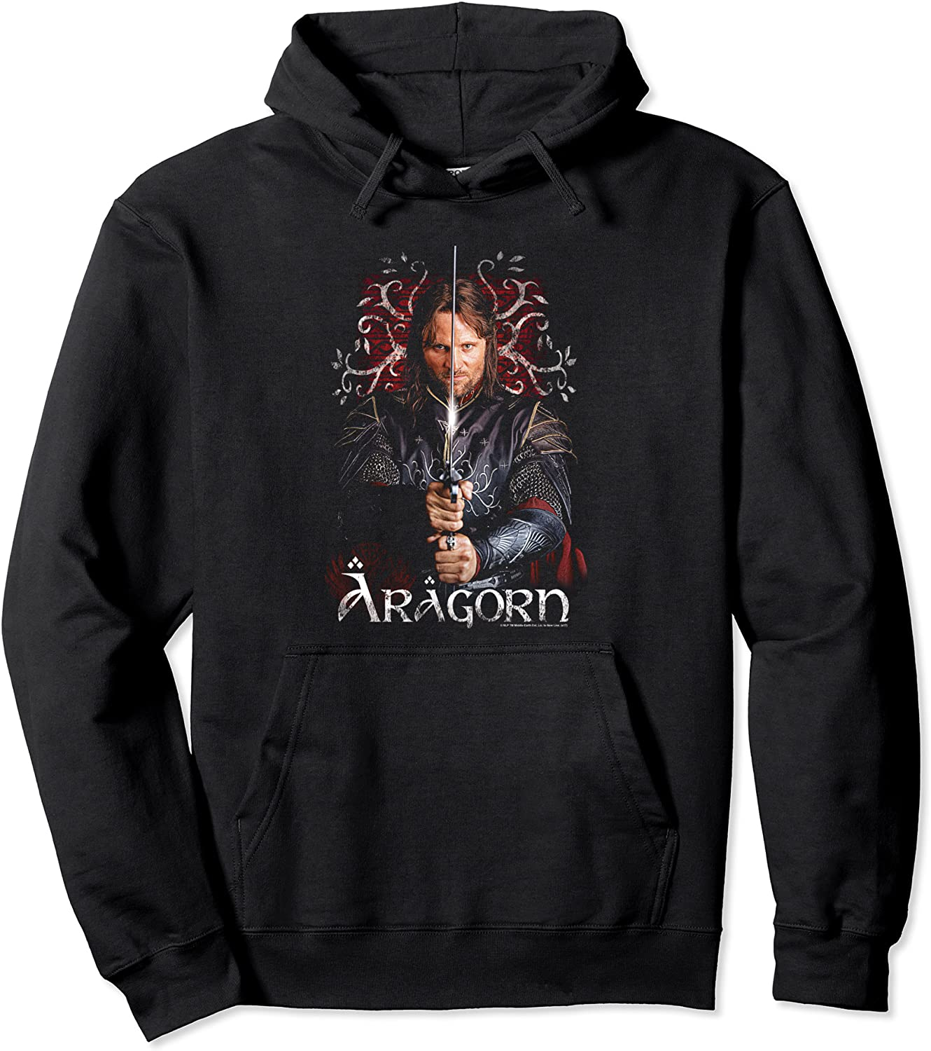 Lord of Super intense SALE the Rings Pullover Ranking TOP5 Aragorn Hoodie