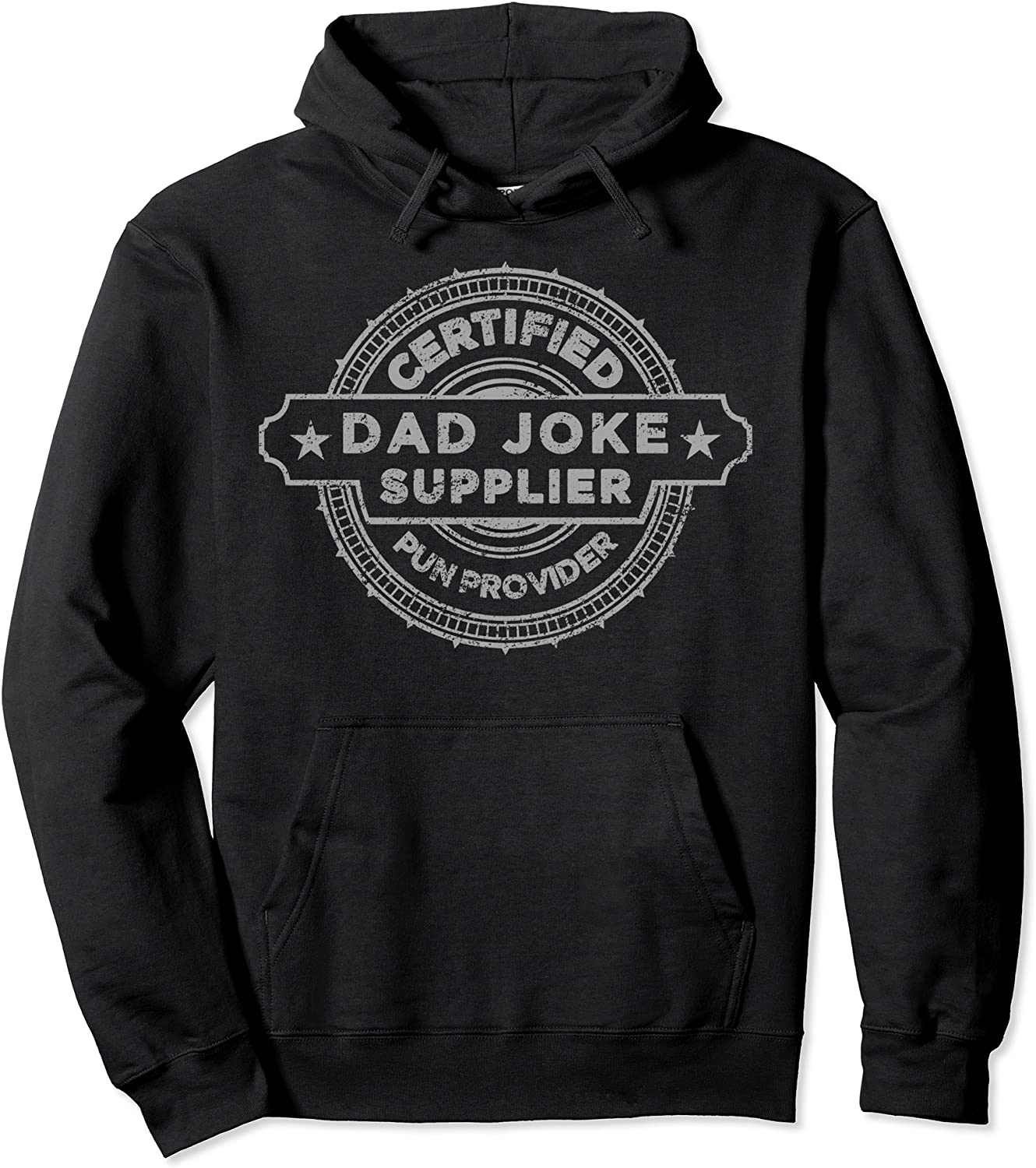 Certified Pun Provider Dad Max Some reservation 90% OFF Joke Pullover Supplier Hoodie