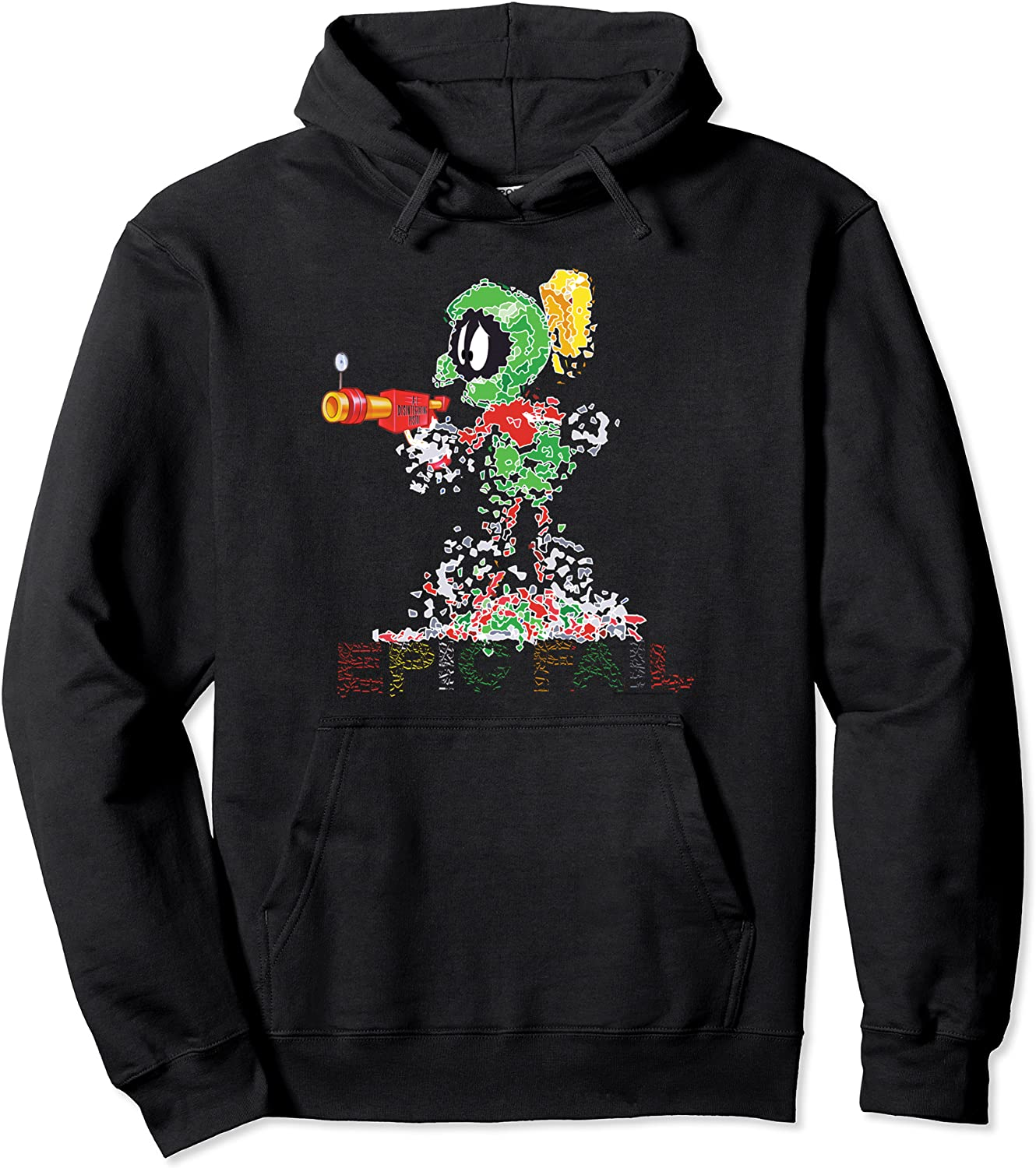 Outlet SALE Looney Ranking TOP9 Tunes Marvin the Martian Pullover Hoodie Fail Epic
