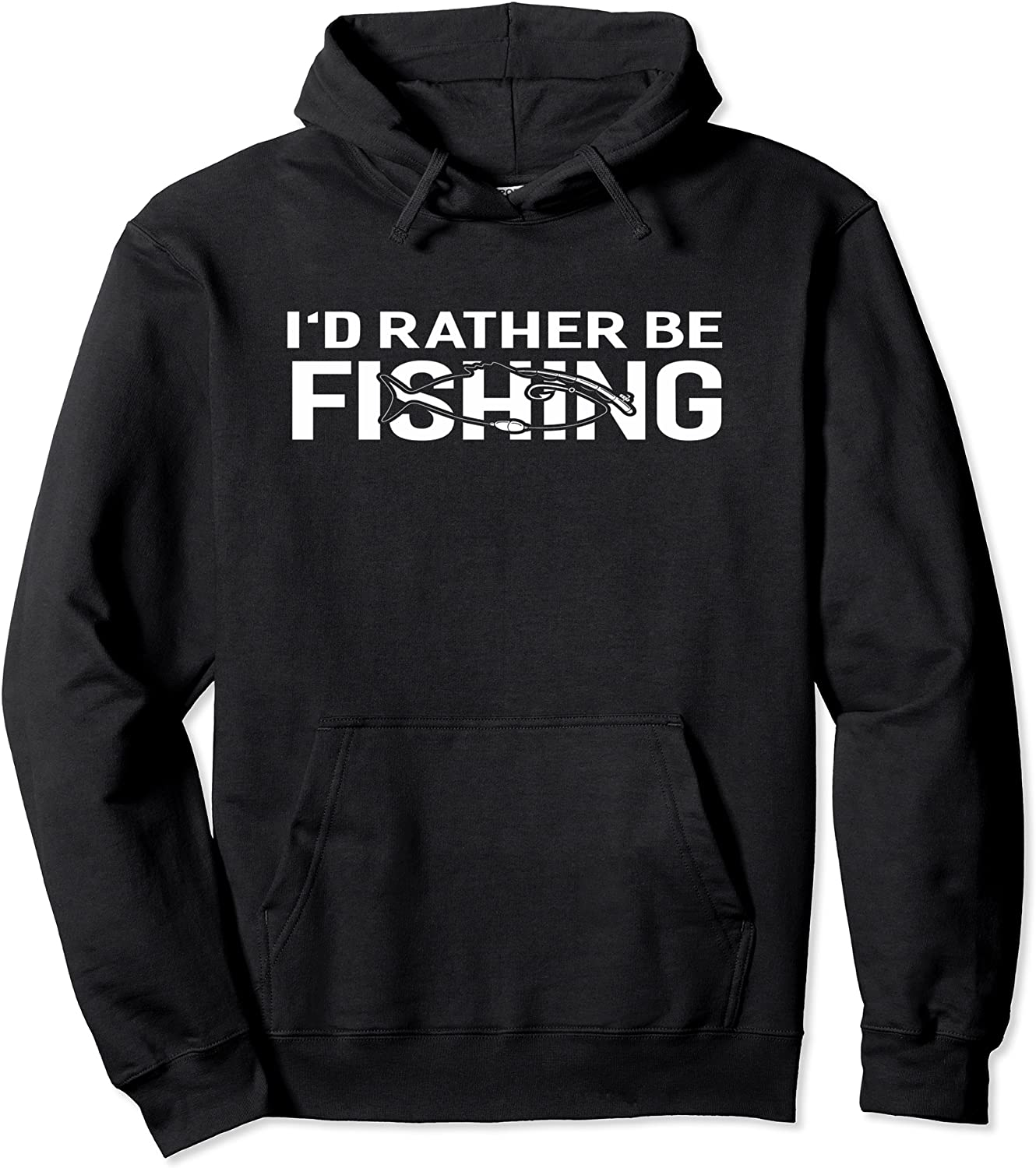 I'd Rather Be Funny 5 ☆ very popular New product!! Fishing Hoodie