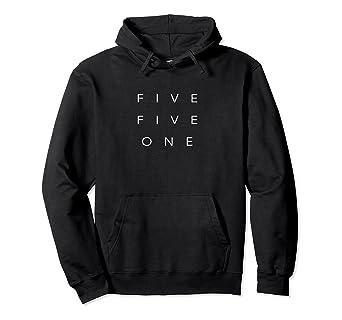Amazon 551 Area Code Hoodie Sweatshirt New Jersey Bayonne Clothing