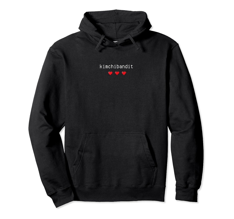 Korean T Shirt Kimchi Bandit Heart Love Gift K Pop Food Unisex Pullover Hoodie