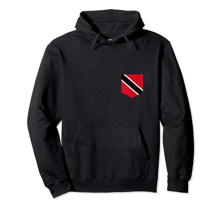 Trinidad And Tobago Flag Art With Printed Trinidadian Pocket Tank Top Shirts Unisex Pullover Hoodie
