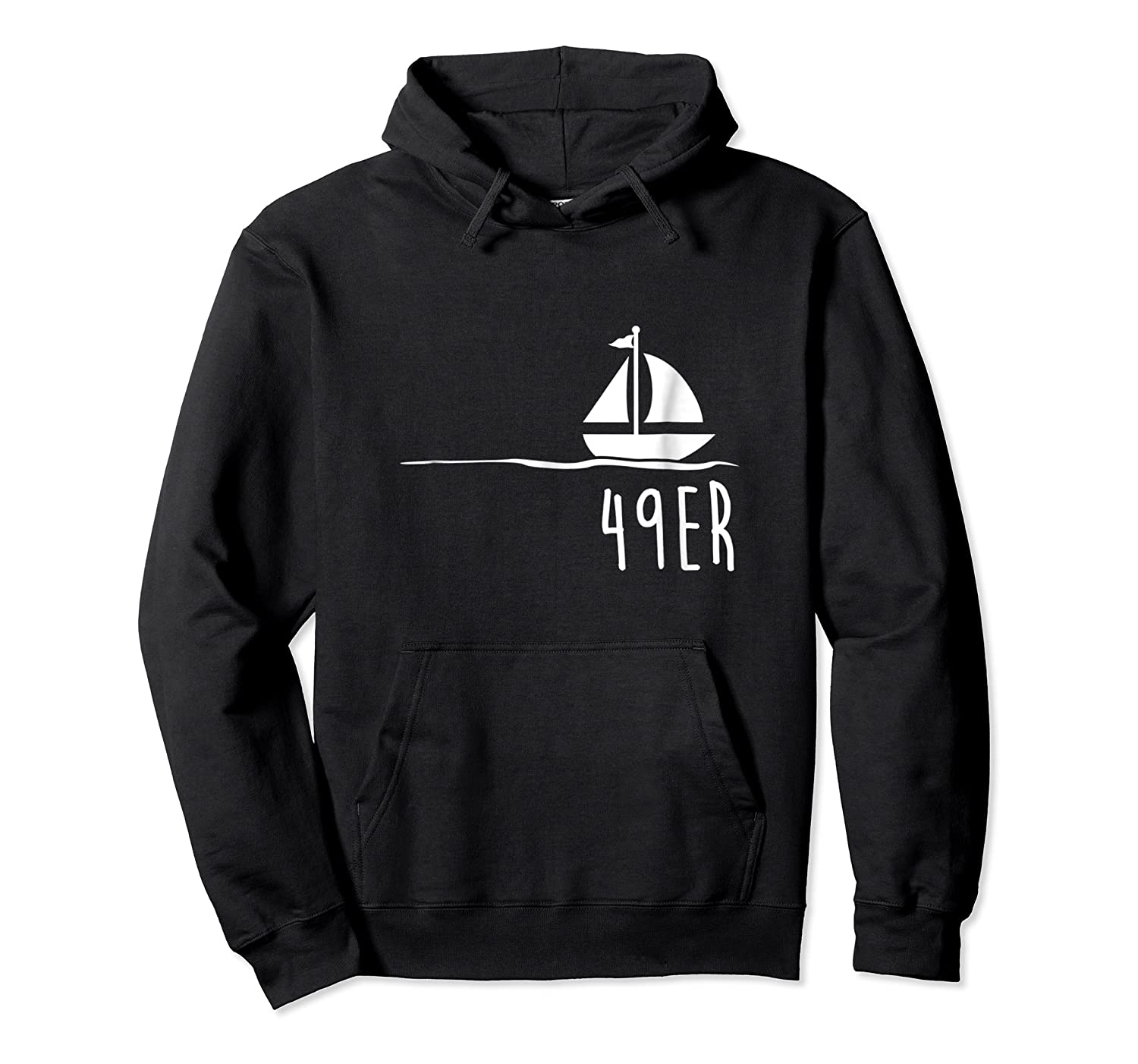 Funny Sailing Shirt, 49er Boat Gift Unisex Pullover Hoodie