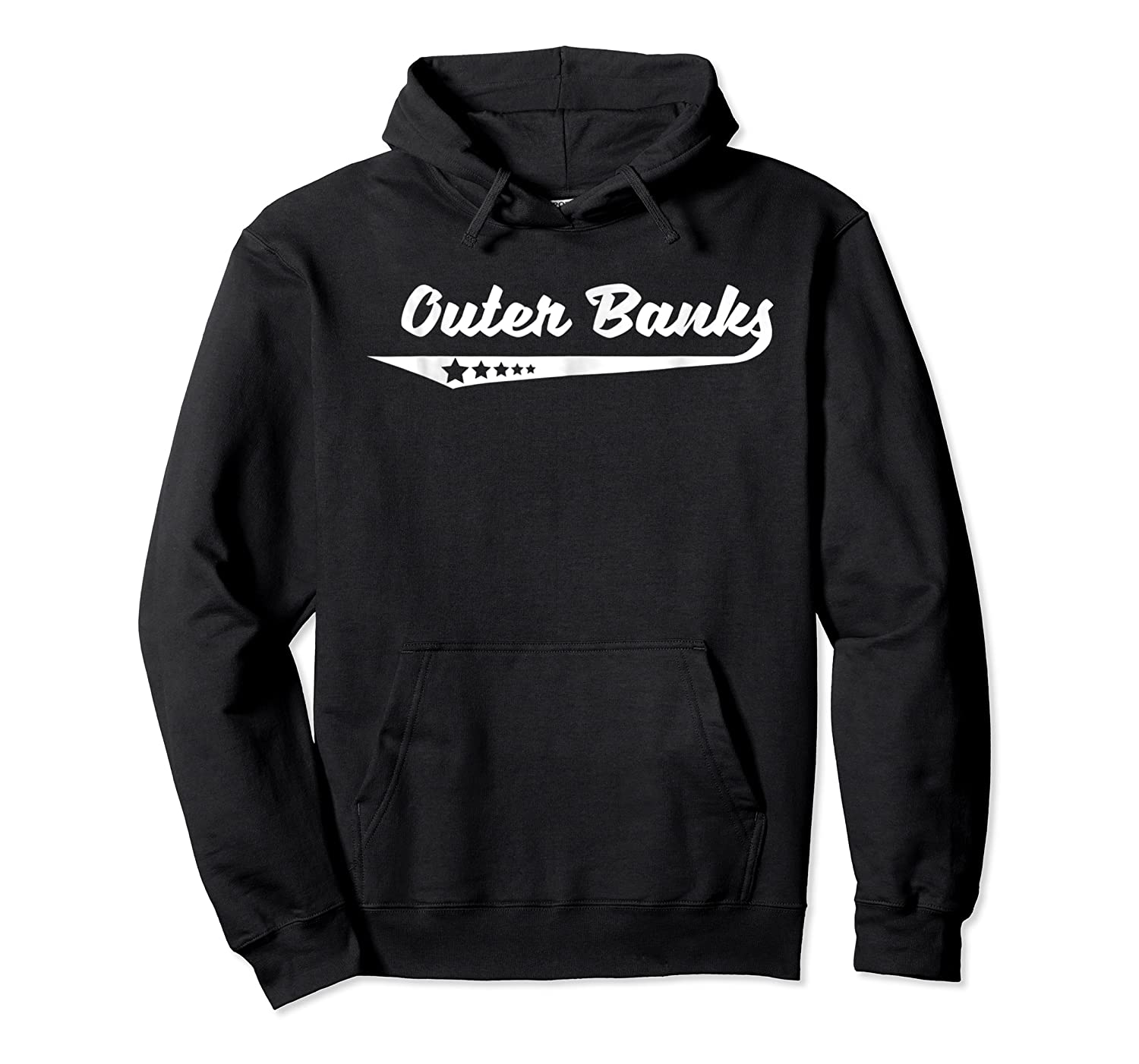 Vintage Outer Banks Nc Stars Logo Retro T-shirt Unisex Pullover Hoodie