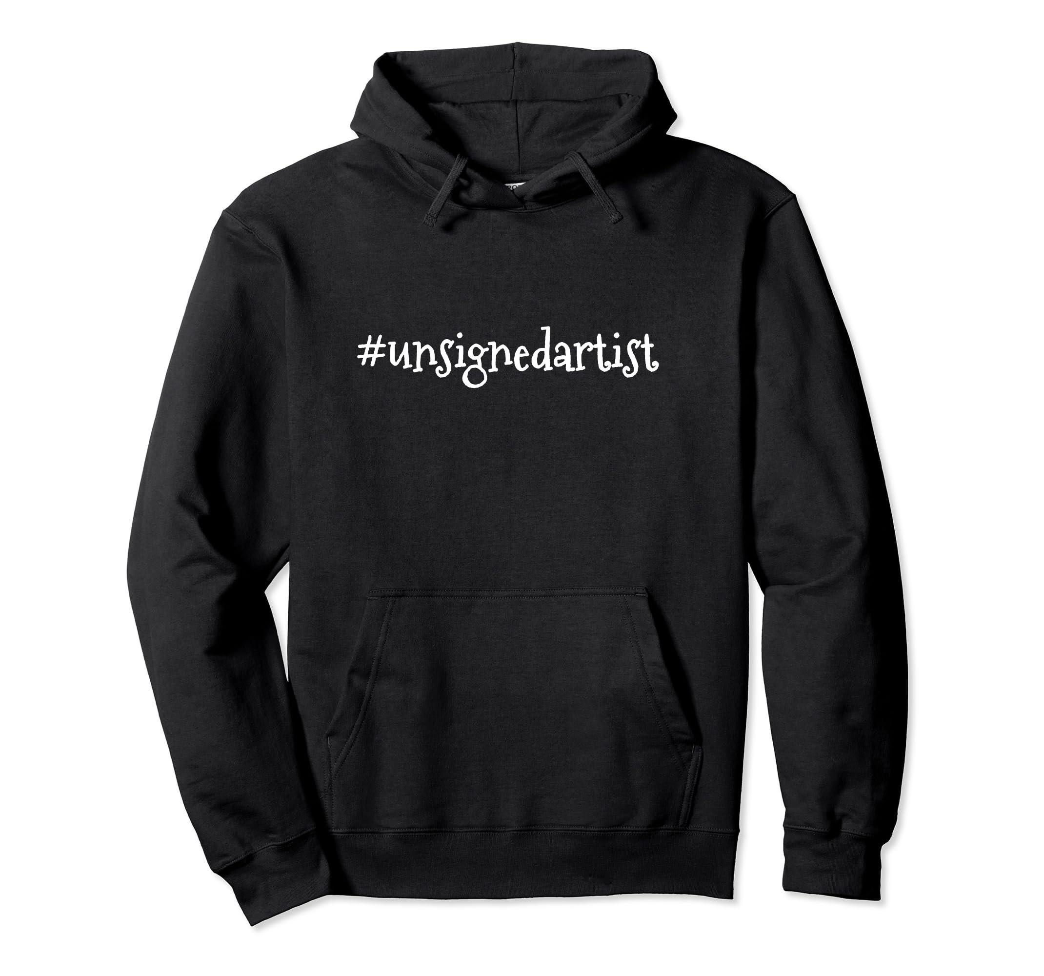 #Unsignedartist Pullover Hoodie