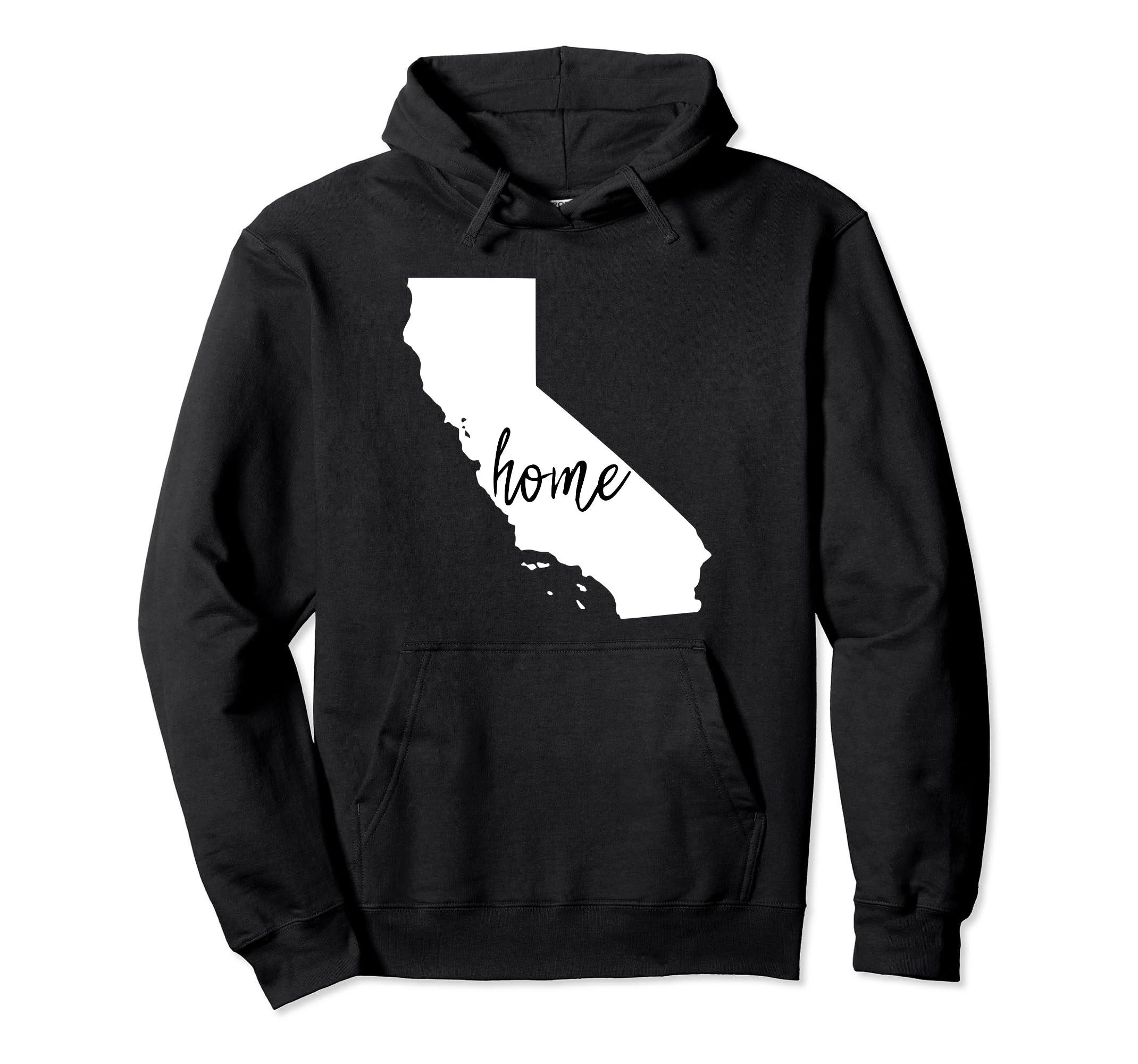 California Hoodie, California Home Hoodie,-Colonhue