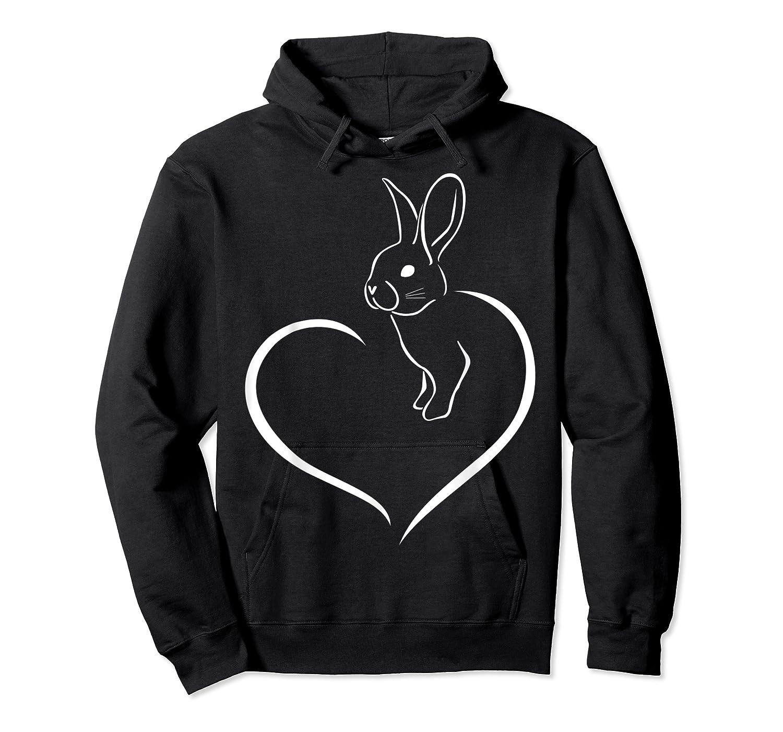 Rabbi Rabbit Heart Gift For Rabbit Lover Shirts Unisex Pullover Hoodie