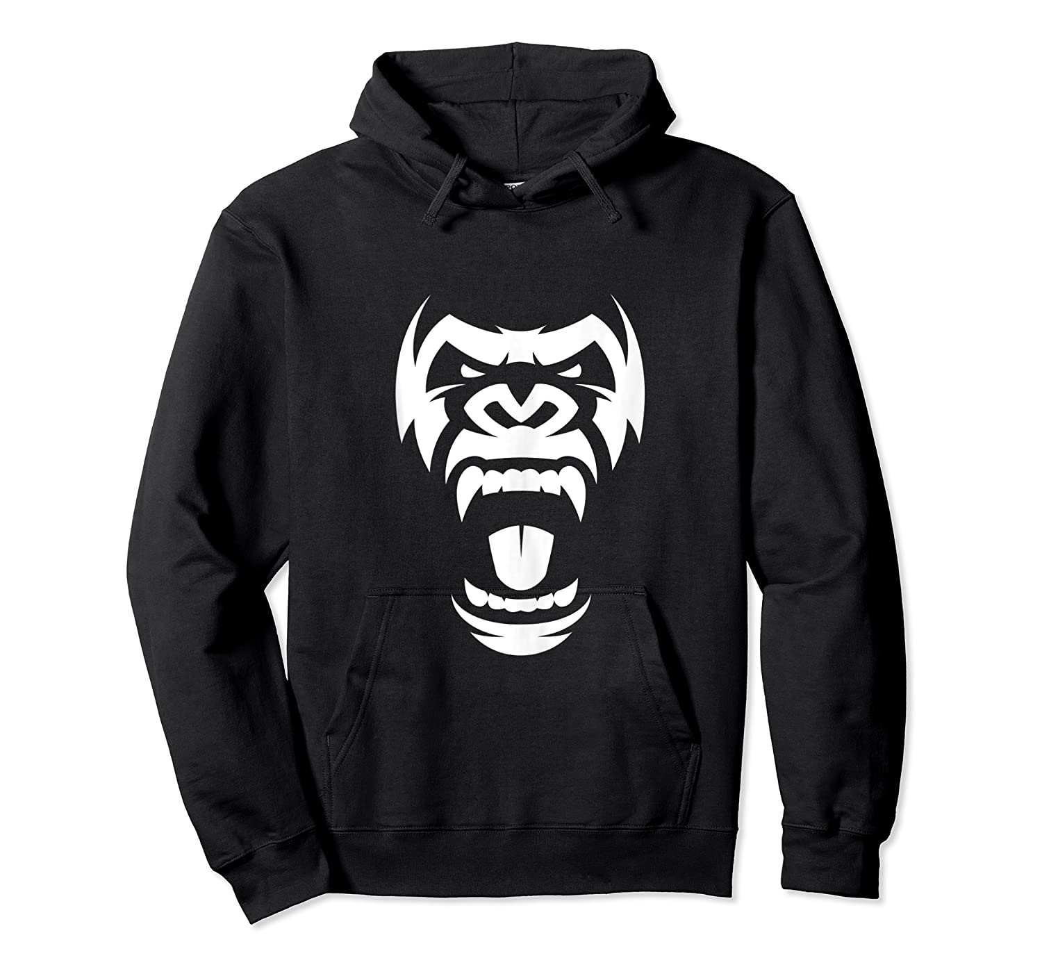 Angry Gorilla Furious Silverback Shirts Unisex Pullover Hoodie