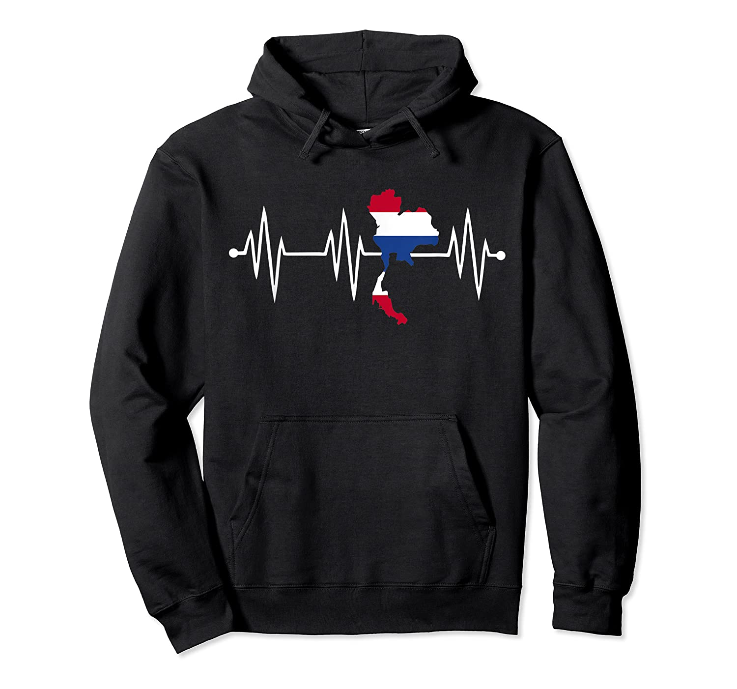 Heartbeat Thailand Shirt For And  Unisex Pullover Hoodie