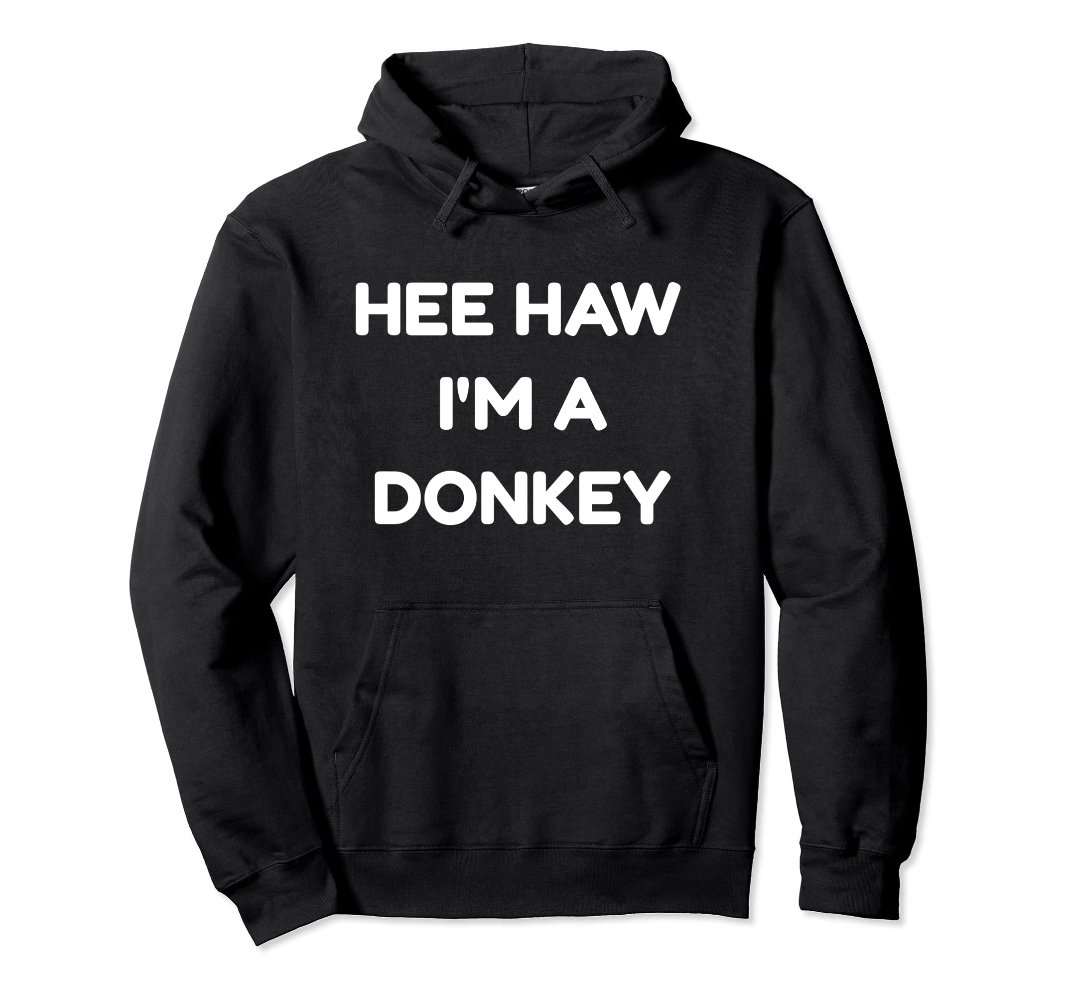 Donkey Funny Halloween Costume Hoodie Hee Haw-ANZ