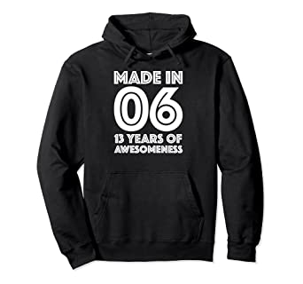 Image Unavailable Not Available For Color 13th Birthday Hoodie Boys Gifts Age 13 Year Old