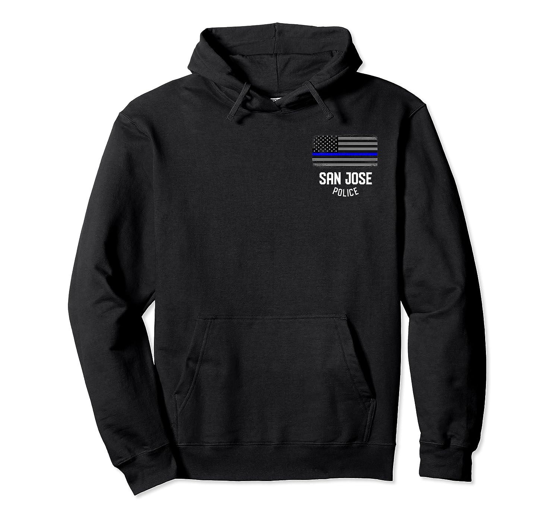 San Jose Police Officer California Policeman Duty T-shirt Unisex Pullover Hoodie