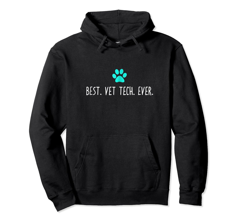 Funny Pe, Best Vet Tech Veterinarian Gift Shirts Unisex Pullover Hoodie