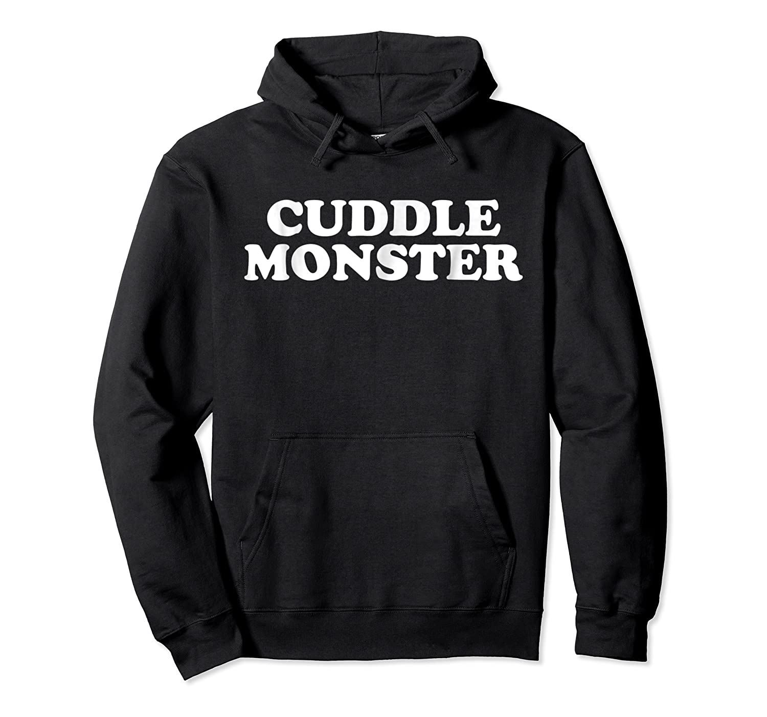 Funny Cuddle Monster T-shirt Unisex Pullover Hoodie