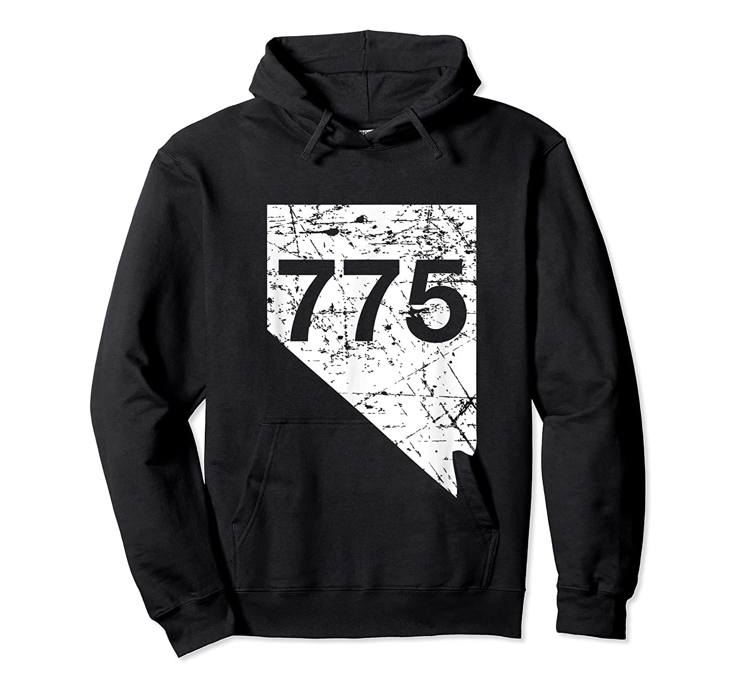 Carson City Reno Sparks Area Code 775 Shirt Nevada Gift Unisex Pullover Hoodie