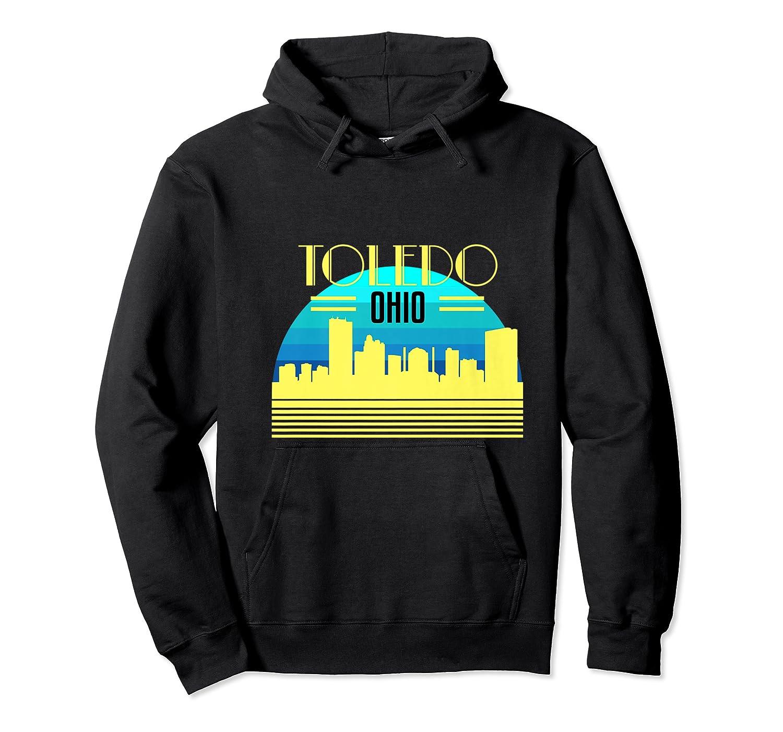 Ohio Toledo Hometown T Shirt Glass City Christmas Gift Ideas Unisex Pullover Hoodie