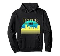 Ohio Toledo Hometown T Shirt Glass City Christmas Gift Ideas Hoodie Black