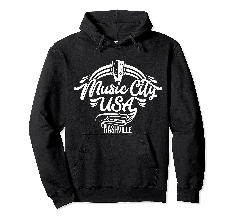 Music City Usa Nashville Retro T Shirt Unisex Pullover Hoodie