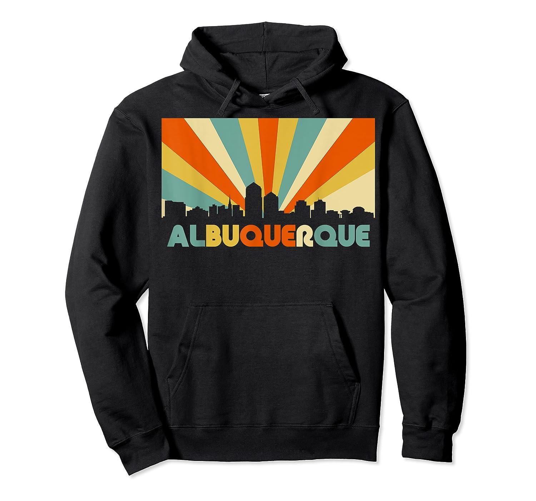 Albuquerque T Shirt City Skyline 70s Retro Souvenir Shirt Unisex Pullover Hoodie