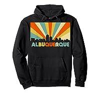 Albuquerque T Shirt City Skyline 70s Retro Souvenir Shirt Hoodie Black