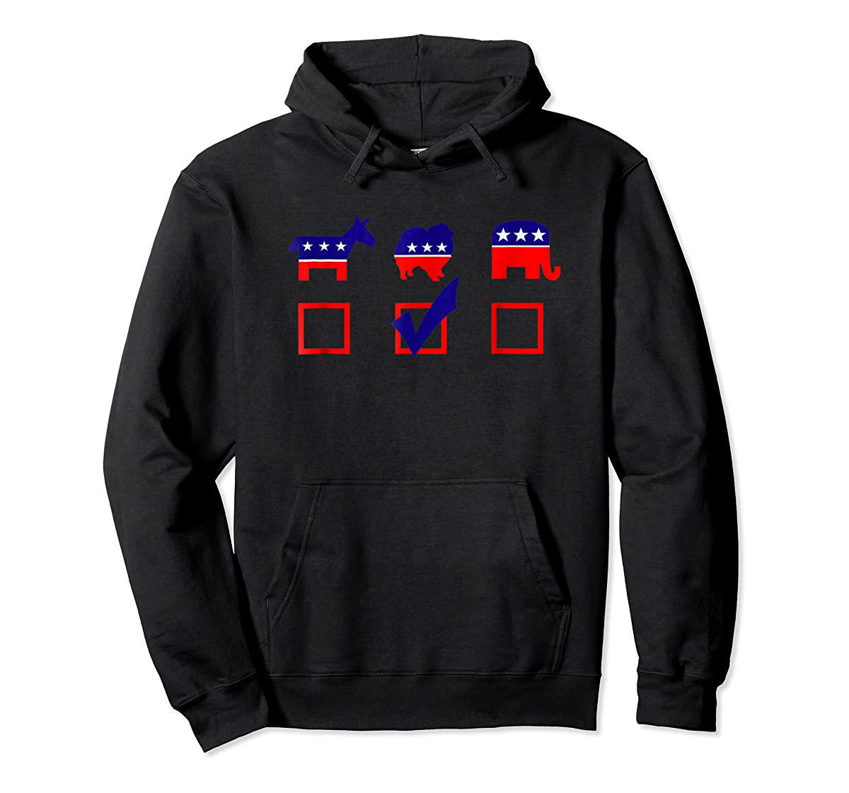 Vote Pomeranian For President T-shirt Cool Dog Lover Shirt-Hoodie-Black